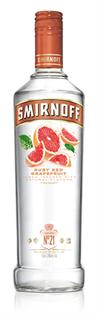 Smirnoff Vodka Ruby Red Grapefruit 1.00l